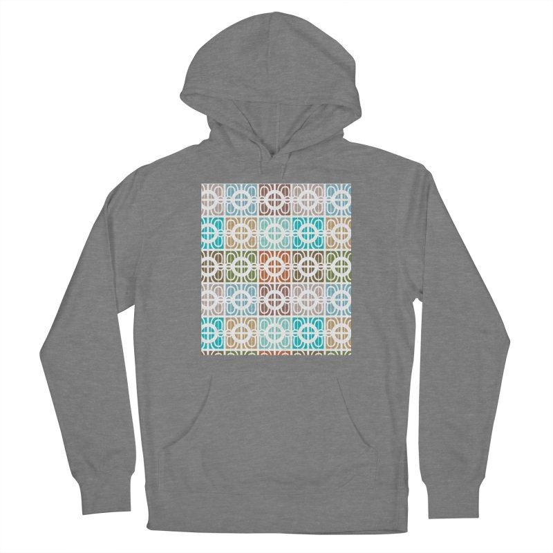 Desert Tiles Men's French Terry Pullover Hoody by Svaeth's Artist Shop