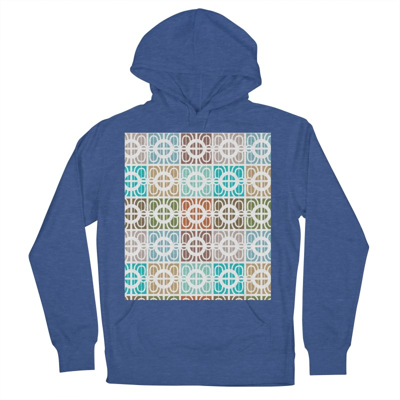 Desert Tiles Women's French Terry Pullover Hoody by Svaeth's Artist Shop