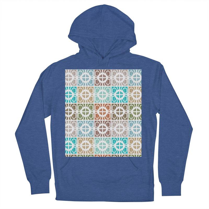 Desert Tiles Men's French Terry Pullover Hoody by Svaeth's Artist Shop
