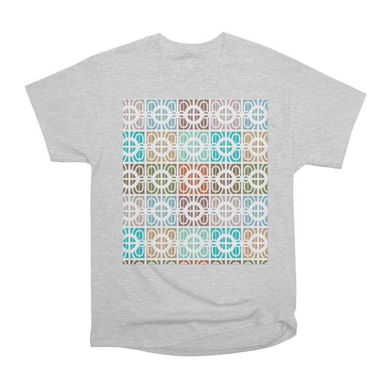 Desert Tiles Men's Heavyweight T-Shirt by Svaeth's Artist Shop