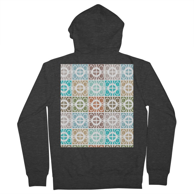 Desert Tiles Men's Zip-Up Hoody by Svaeth's Artist Shop