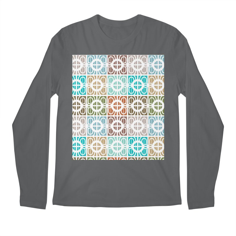 Desert Tiles Men's Regular Longsleeve T-Shirt by Svaeth's Artist Shop
