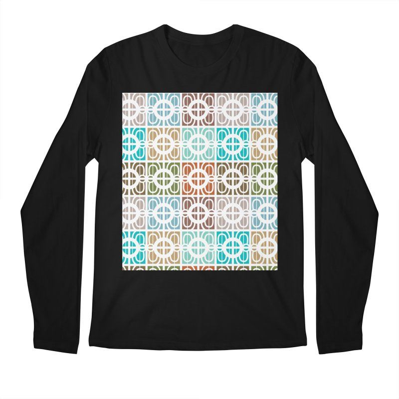 Desert Tiles Men's Regular Longsleeve T-Shirt by Svaeth's Artist Shop