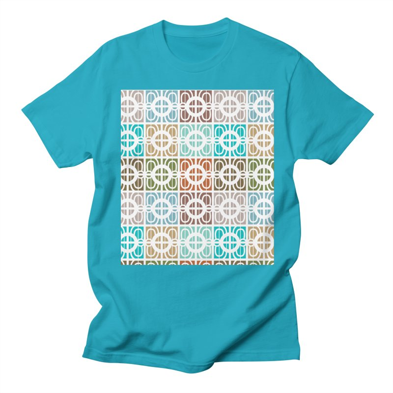 Desert Tiles Men's Regular T-Shirt by Svaeth's Artist Shop