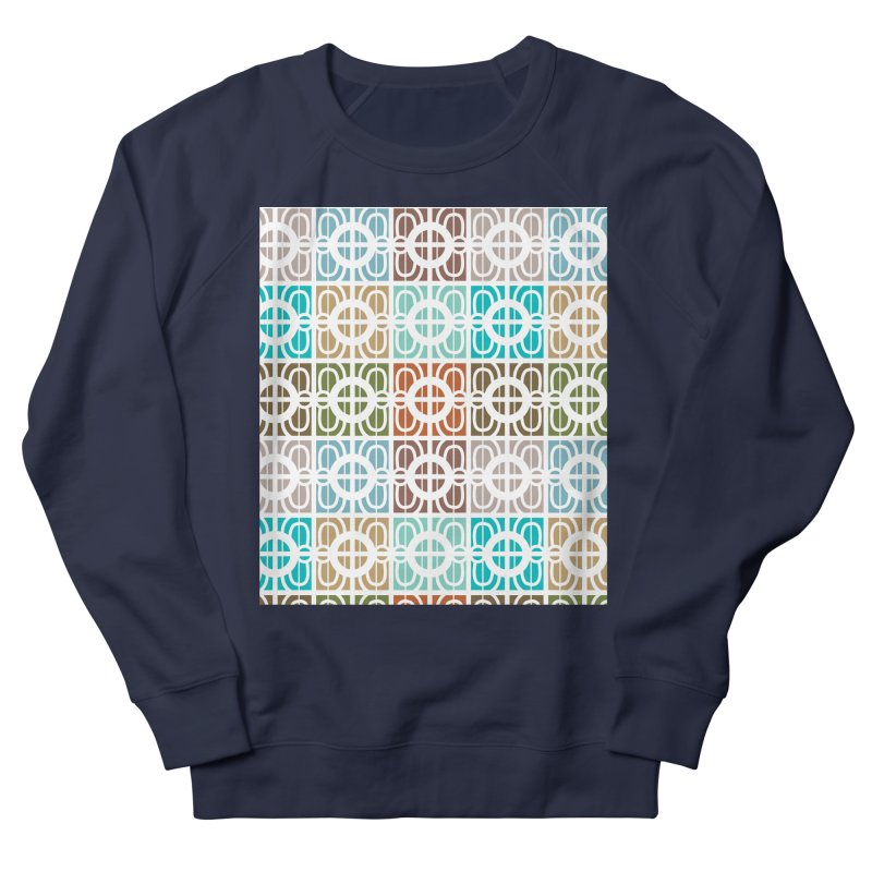 Desert Tiles Women's French Terry Sweatshirt by Svaeth's Artist Shop