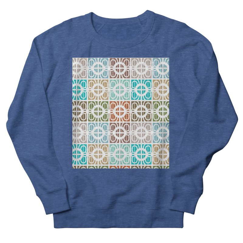 Desert Tiles Men's French Terry Sweatshirt by Svaeth's Artist Shop
