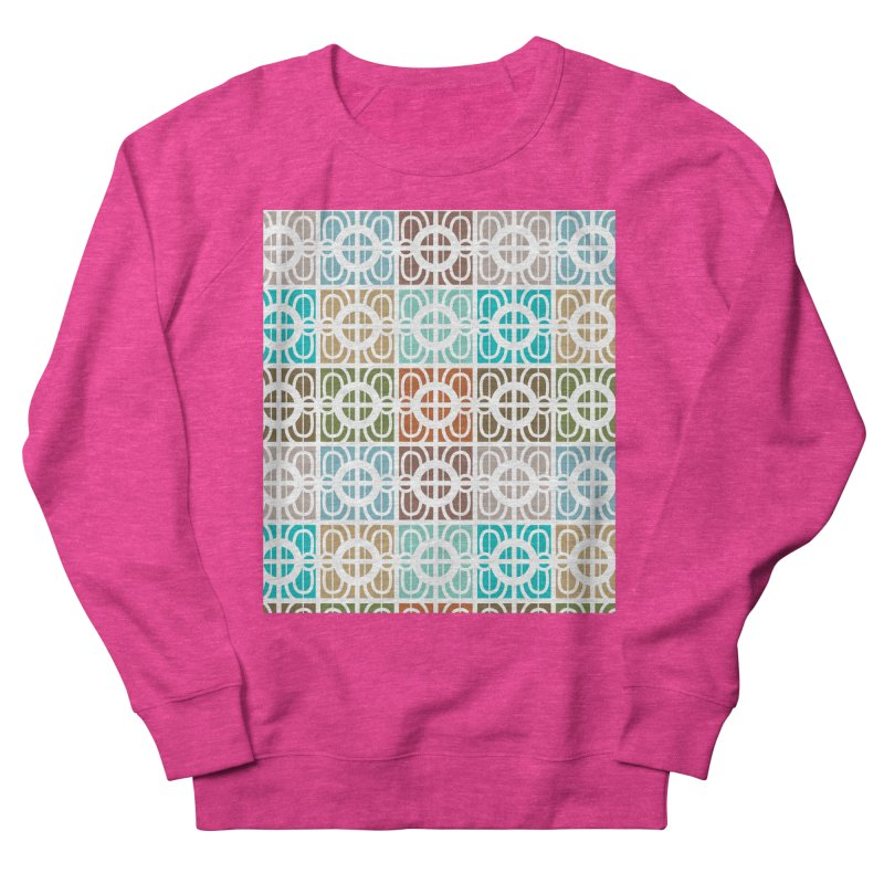 Desert Tiles Men's French Terry Sweatshirt by Svaeth's Artist Shop