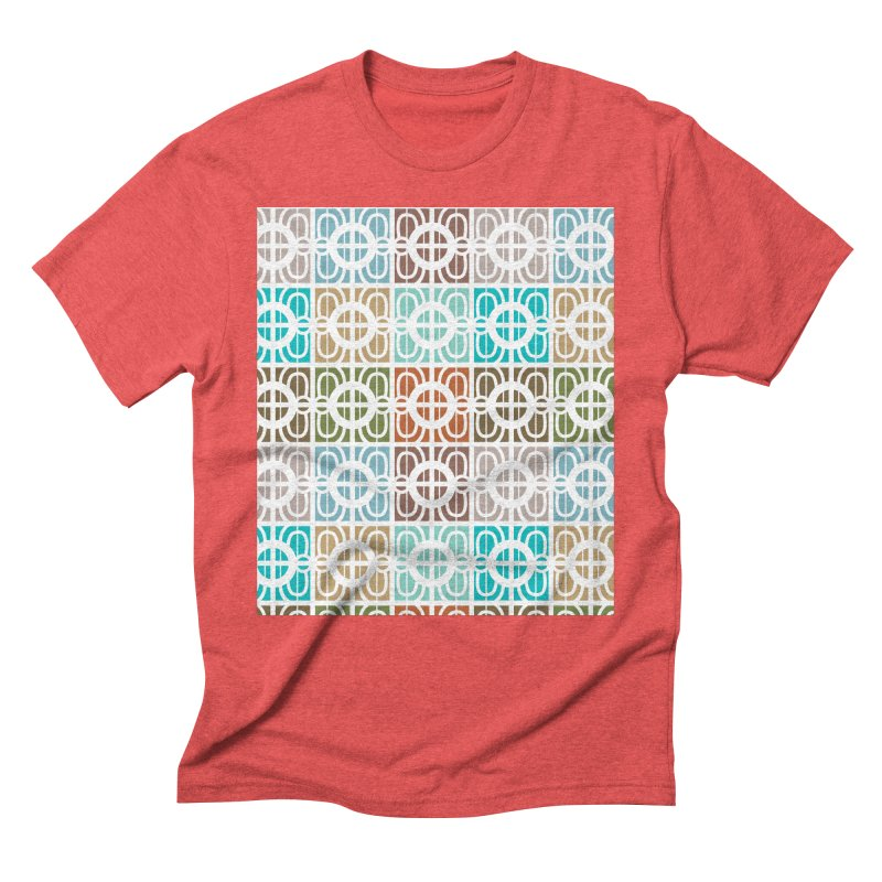 Desert Tiles Men's Triblend T-Shirt by Svaeth's Artist Shop