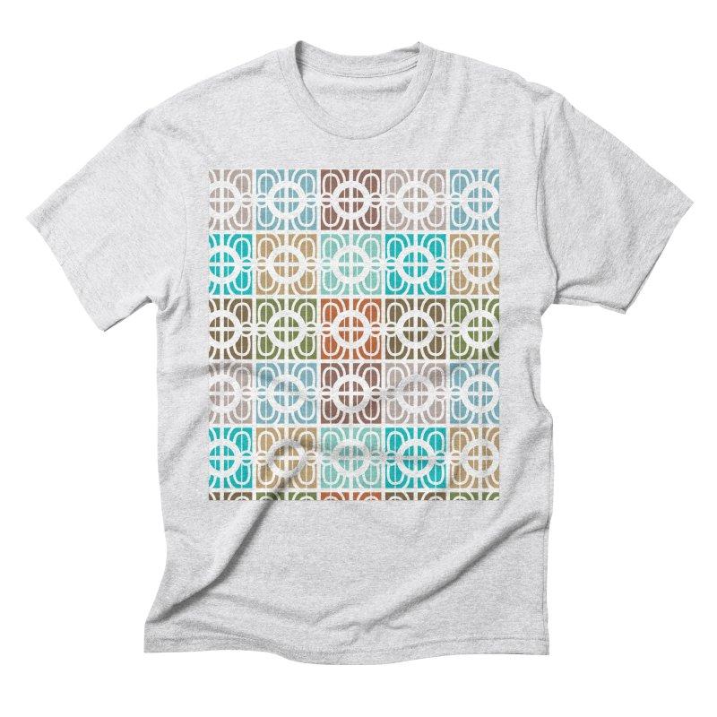 Desert Tiles Men's Triblend T-Shirt by Svaeth's Artist Shop