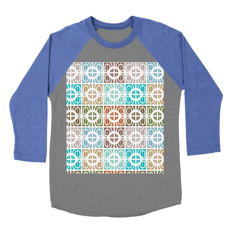 Desert Tiles Women's Baseball Triblend Longsleeve T-Shirt by Svaeth's Artist Shop
