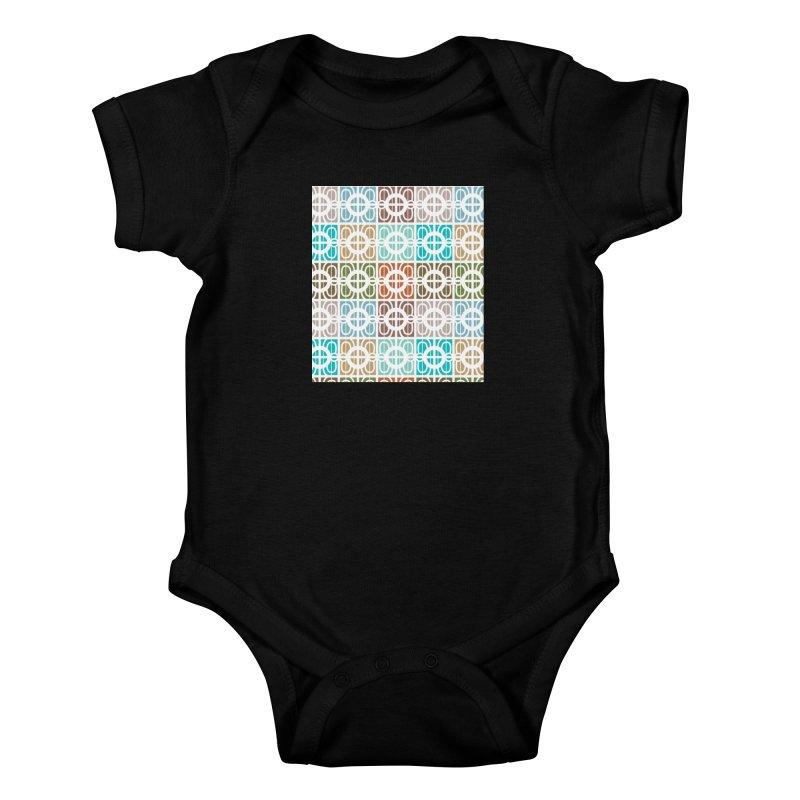Desert Tiles Kids Baby Bodysuit by Svaeth's Artist Shop