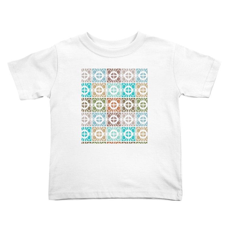Desert Tiles Kids Toddler T-Shirt by Svaeth's Artist Shop