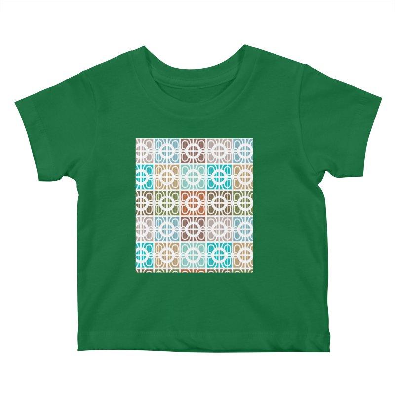 Desert Tiles Kids Baby T-Shirt by Svaeth's Artist Shop