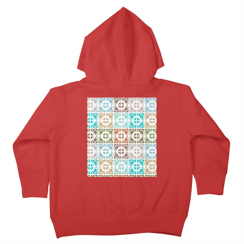 Desert Tiles Kids Toddler Zip-Up Hoody by Svaeth's Artist Shop