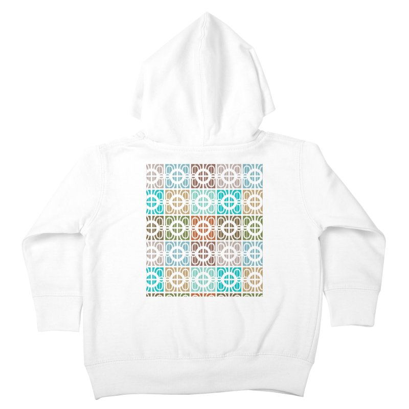 Desert Tiles Kids Toddler Zip-Up Hoody by Svaeth's Artist Shop
