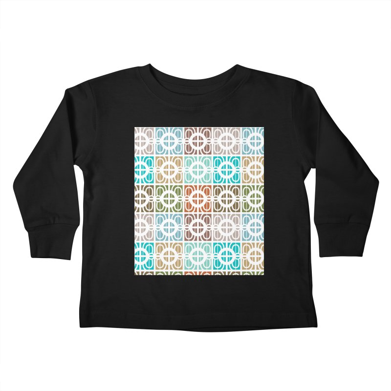 Desert Tiles Kids Toddler Longsleeve T-Shirt by Svaeth's Artist Shop
