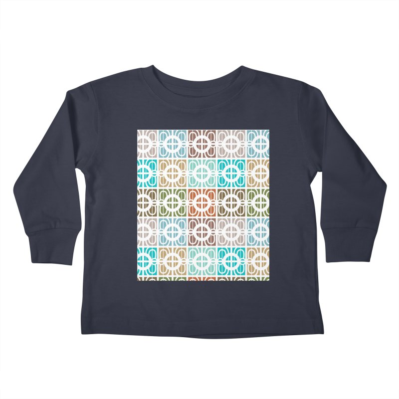 Desert Tiles Kids Toddler Longsleeve T-Shirt by Svaeth's Artist Shop
