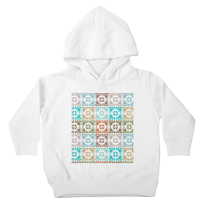 Desert Tiles Kids Toddler Pullover Hoody by Svaeth's Artist Shop
