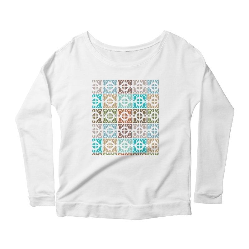 Desert Tiles Women's Scoop Neck Longsleeve T-Shirt by Svaeth's Artist Shop