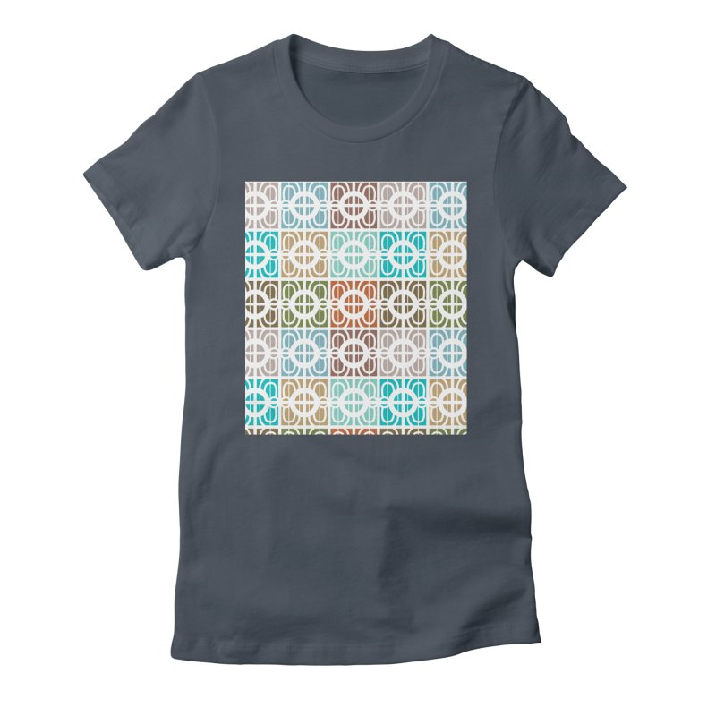 Desert Tiles Women's T-Shirt by Svaeth's Artist Shop