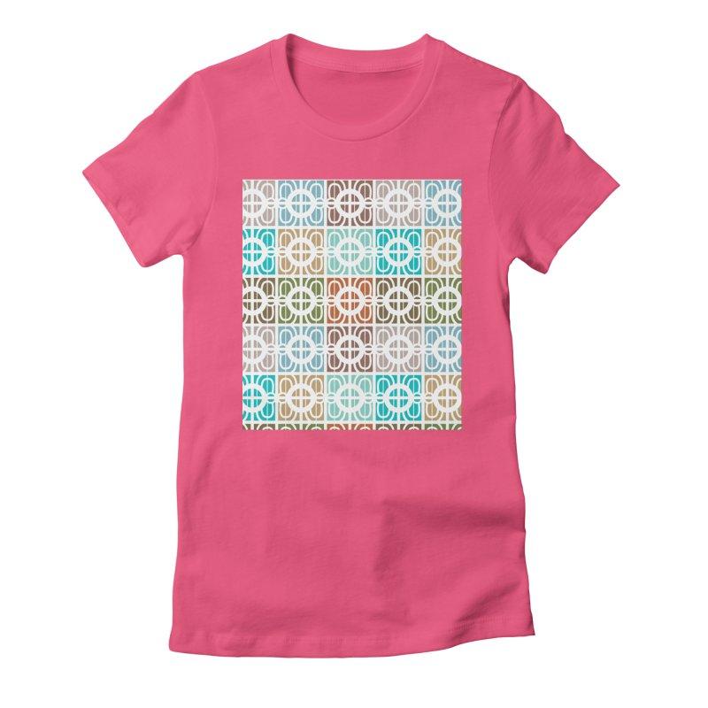Desert Tiles Women's T-Shirt by Svaeth's Artist Shop
