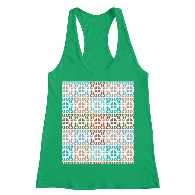 Desert Tiles Women's Racerback Tank by Svaeth's Artist Shop