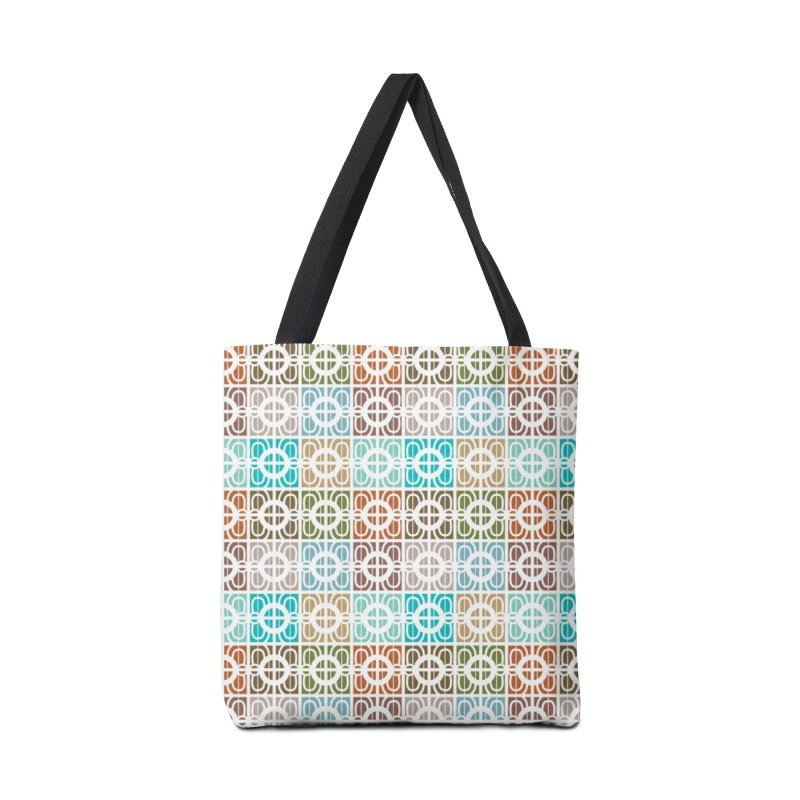 Desert Tiles Accessories Bag by Svaeth's Artist Shop