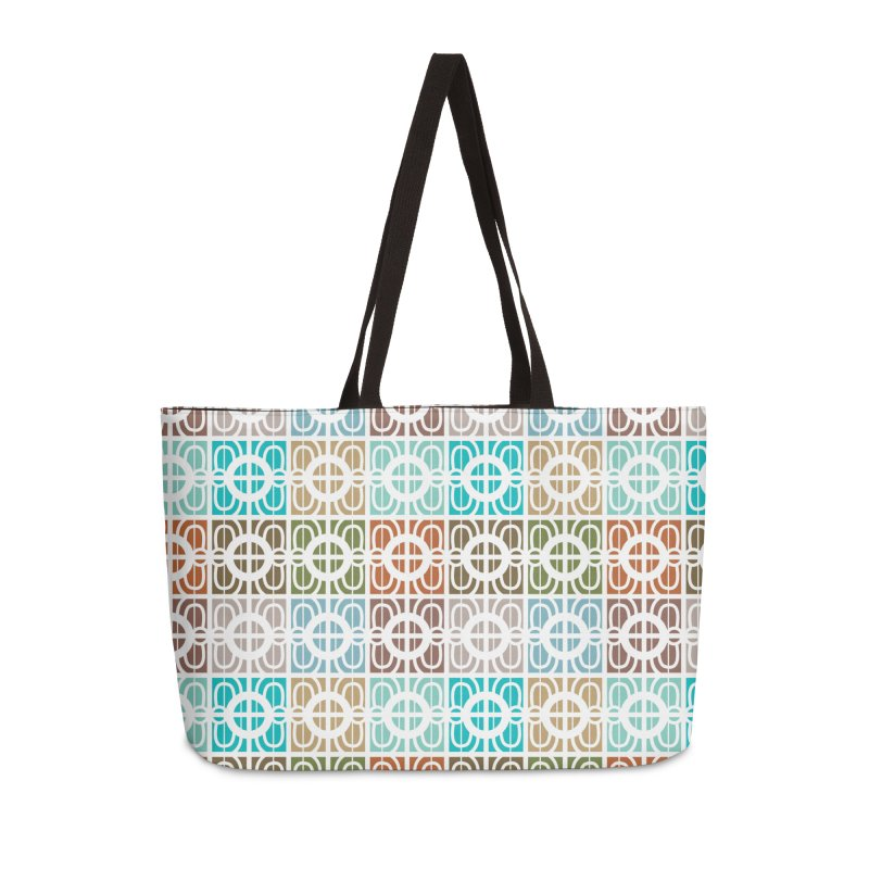 Desert Tiles Accessories Weekender Bag Bag by Svaeth's Artist Shop