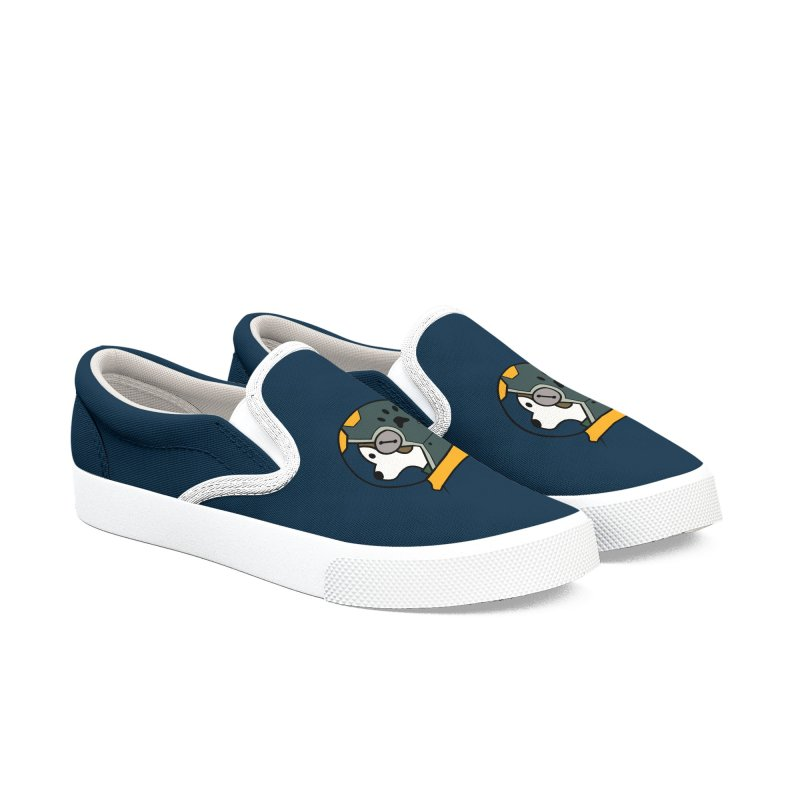 Space Dog Men's Shoes by Svaeth's Artist Shop