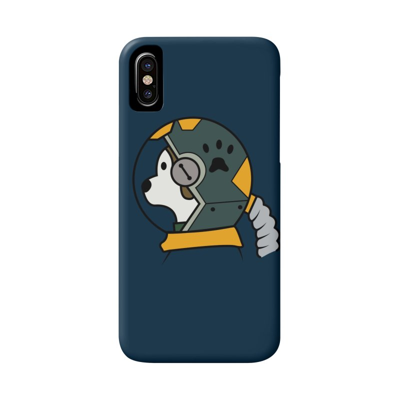 Space Dog Accessories Phone Case by Svaeth's Artist Shop