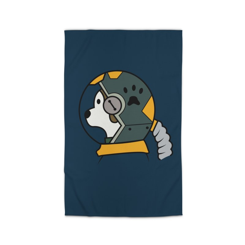 Space Dog Home Rug by Svaeth's Artist Shop