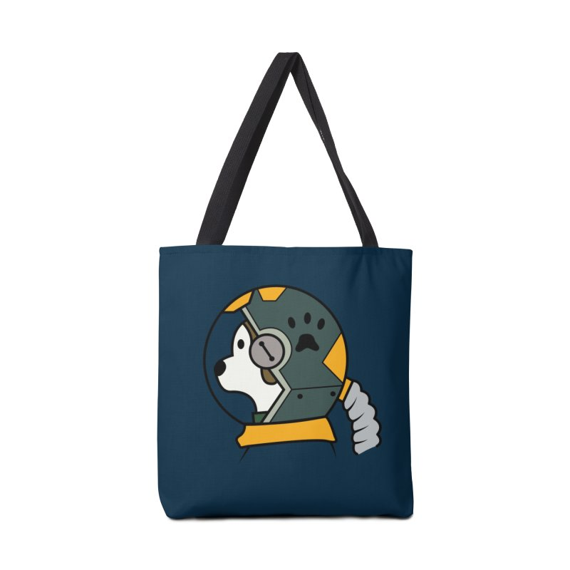 Space Dog Accessories Bag by Svaeth's Artist Shop