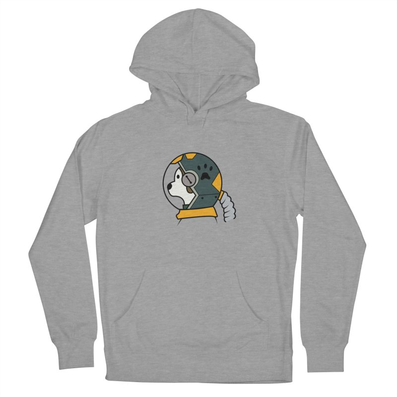 Space Dog Women's Pullover Hoody by Svaeth's Artist Shop