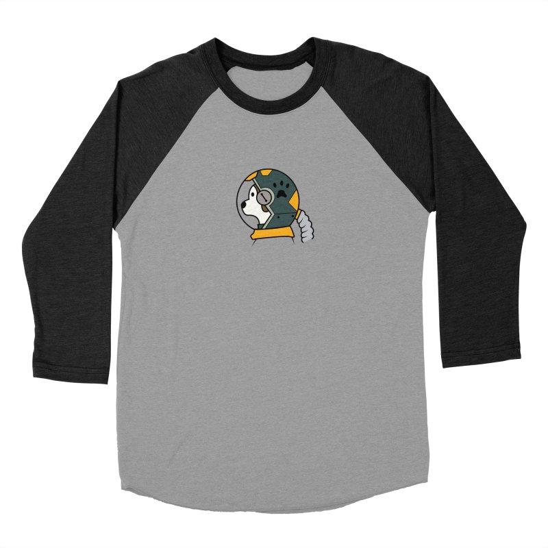 Space Dog Women's Longsleeve T-Shirt by Svaeth's Artist Shop
