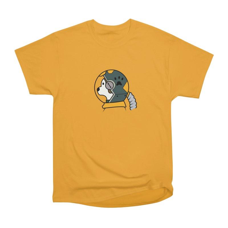 Space Dog Women's T-Shirt by Svaeth's Artist Shop