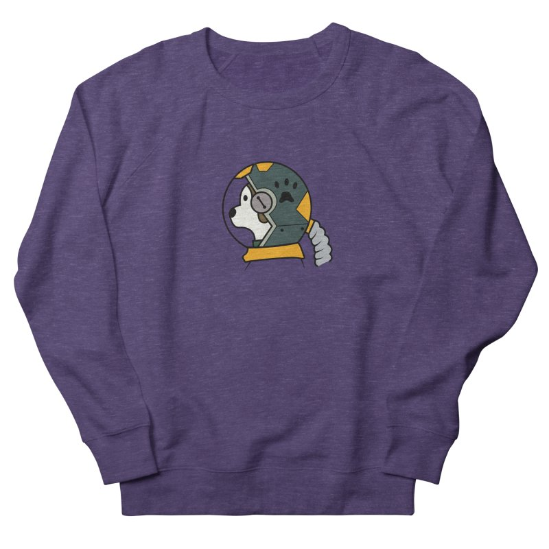 Space Dog Women's Sweatshirt by Svaeth's Artist Shop