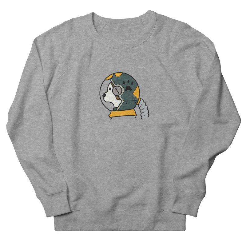 Space Dog Women's Sweatshirt by Svaeth's Artist Shop