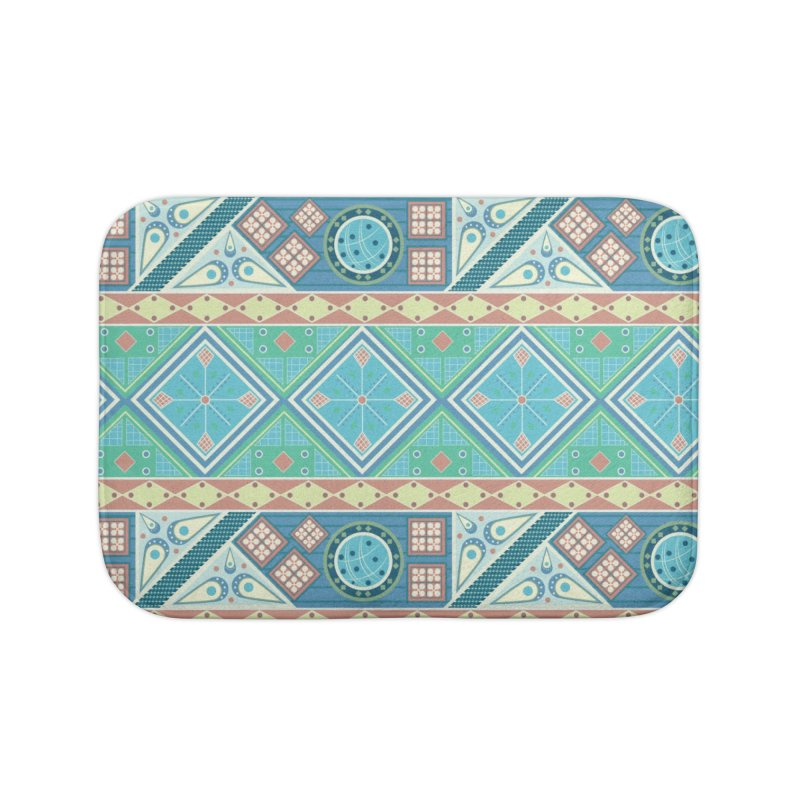 Pysanky Home Bath Mat by Svaeth's Artist Shop