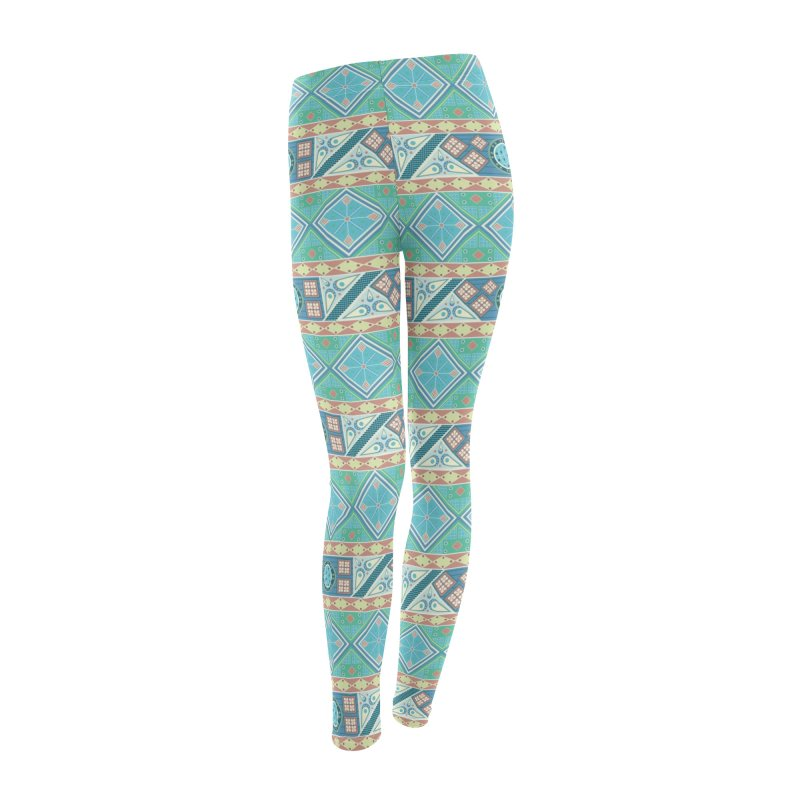 Pysanky Women's Leggings Bottoms by Svaeth's Artist Shop