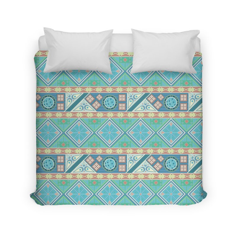 Pysanky Home Duvet by Svaeth's Artist Shop