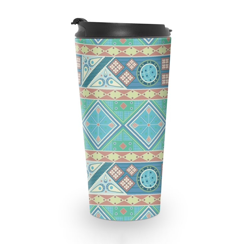 Pysanky Accessories Travel Mug by Svaeth's Artist Shop