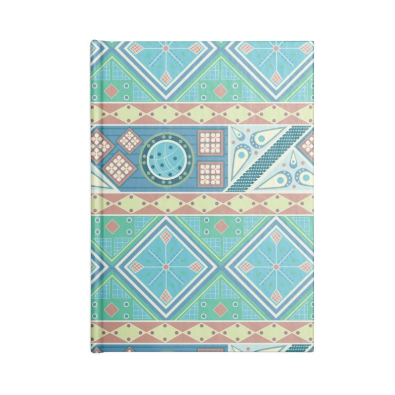 Pysanky Accessories Blank Journal Notebook by Svaeth's Artist Shop