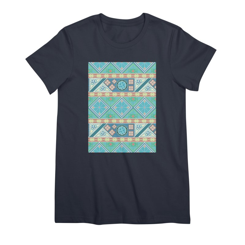 Pysanky Women's Premium T-Shirt by Svaeth's Artist Shop