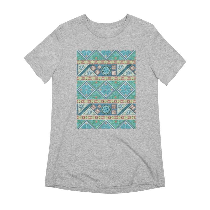 Pysanky Women's Extra Soft T-Shirt by Svaeth's Artist Shop