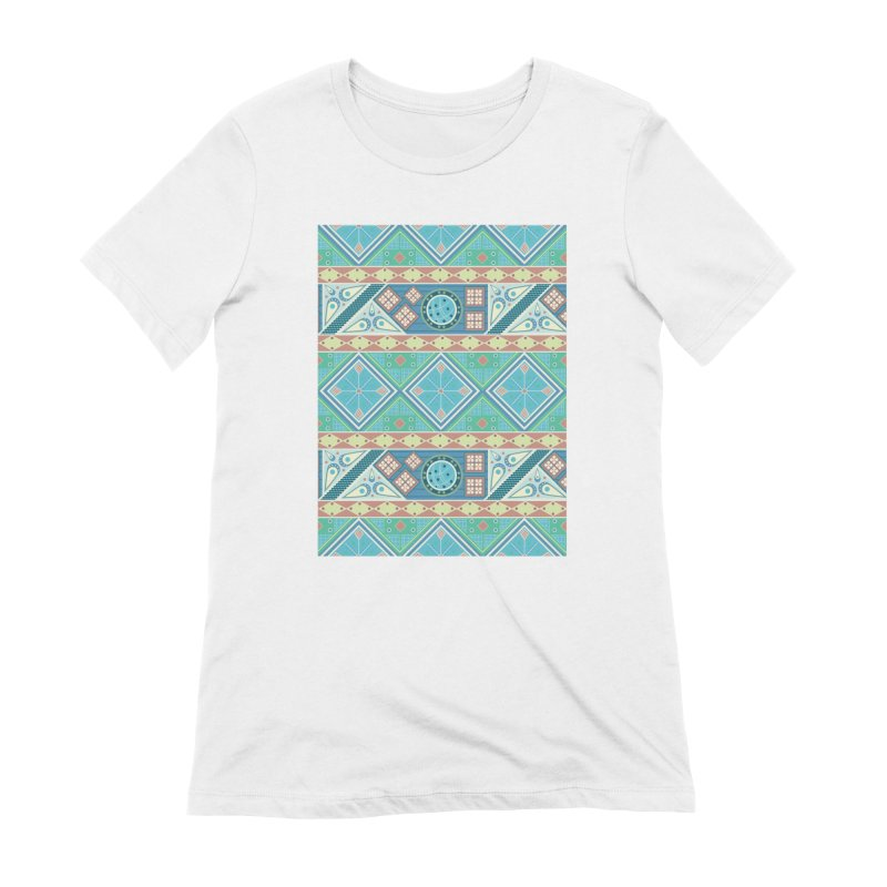 Pysanky Women's Extra Soft T-Shirt by Svaeth's Artist Shop