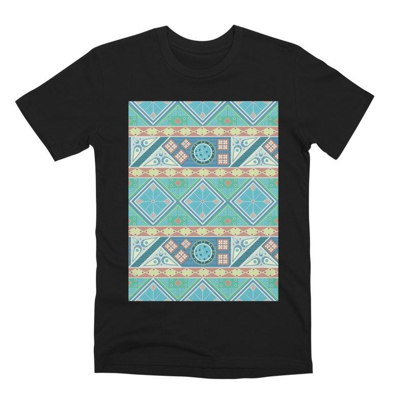 Pysanky Men's Premium T-Shirt by Svaeth's Artist Shop