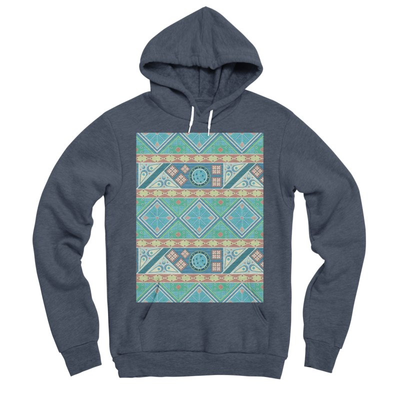 Pysanky Men's Sponge Fleece Pullover Hoody by Svaeth's Artist Shop