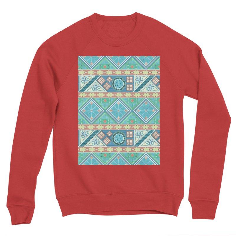Pysanky Men's Sponge Fleece Sweatshirt by Svaeth's Artist Shop