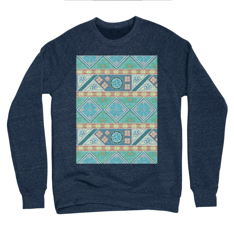 Pysanky Women's Sponge Fleece Sweatshirt by Svaeth's Artist Shop