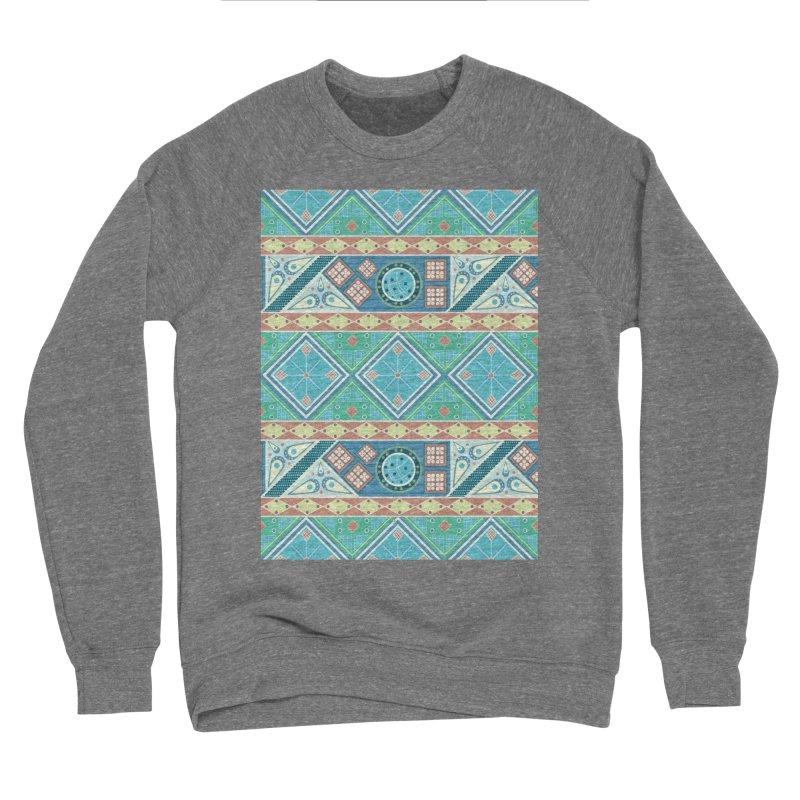 Pysanky Women's Sponge Fleece Sweatshirt by Svaeth's Artist Shop